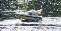 RC model člunu Carson Saint Princess, vč. RC soupravy, 1:20, 27 MHz, RtR
