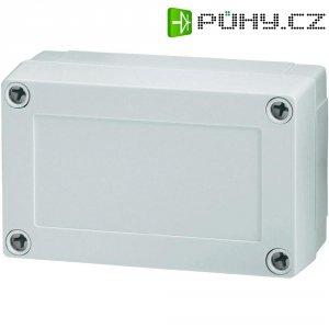 Polykarbonátové pouzdro MNX Fibox, (d x š x v) 130 x 80 x 50 mm, šedá (MNX PC 100/50 LG)
