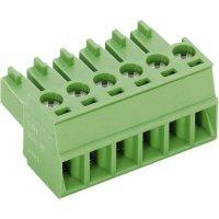 Šroubová svorka PTR AKZ1550/6-3.81 (51550060025E), AWG 28-16, VDE/UL: 160 V/ 300 V, zelená