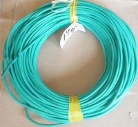 Kabel mikrofonní ohebný OFC 2x zelený, balení 79m, použitý