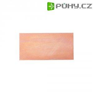 Nepotažený základní materiál Proma, tvrzený papír, jednostranný, 200 x 200 x 1,5 mm