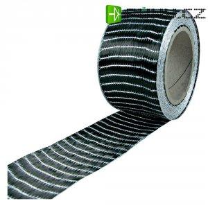 Páska z uhlíkových vláken Toolcraft, 250 g/m2, 10 m