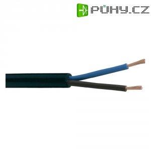 PVC kabel H03VV-F 3x0,75, délka 5 m - zlatá