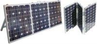 Fotovoltaický solární panel mobilní 3x40W s regulá