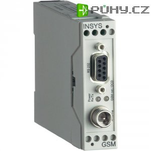 GSM modem Insys 11-02-01-03-02.001, 0,26 A, 110 x 23 x 75 mm, 12 - 24 V/DC