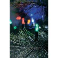 Vánoční mini retěz Konstsmide, 40 barevných LED