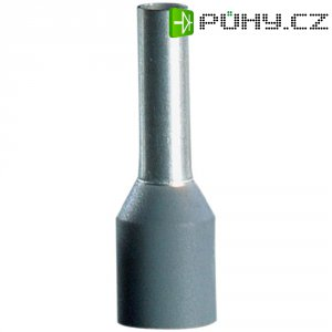 Dutinky s plastovým límcem Vogt Verbindungstechnik 459706, 0,14 mm², 6 mm, šedá, 100 ks