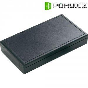 Univerzální pouzdro ABS Hammond Electronics 001106, 125 x 70 x 22 mm, černá (001106)