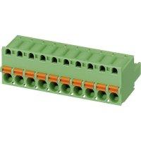 Konektor pružinový Phoenix Contact FKC 2,5/ 3-ST (1910364), AWG 24 -12, zelená