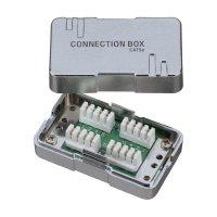 Propojovací box CAT 6, kovový
