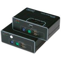 Combo extender (prodlužovač) USB + PS/2, Digitus DS-51110