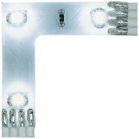 Úhlový LED propojovací pásek Paulmann YourLED, sada 3 ks, 3x 0,24 W, bílá (70206)