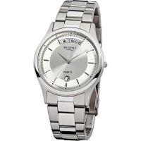 Ručičkové náramkové hodinky Regent F-646 Quartz, pánské, pásek z nerezové oceli