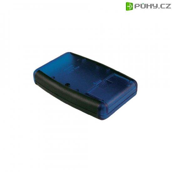 Univerzální pouzdro ABS Hammond Electronics 1553DBKBKBAT, 147 x 89 x 24 mm, černá (1553DBKBKBAT) - Kliknutím na obrázek zavřete