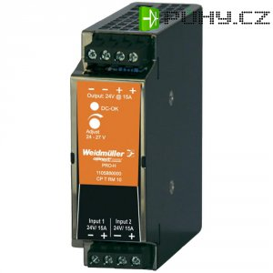 Redundantní modul Weidmüller CP T RM 10 na DIN lištu, 24 - 28 V/DC/15 A