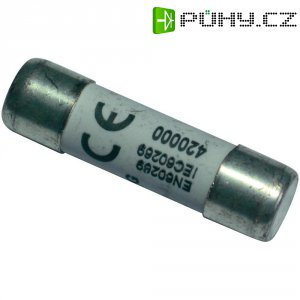 Jemná pojistka ESKA rychlá 1038625, 500 V, 6 A, keramická trubice, 10,3 mm x 38 mm