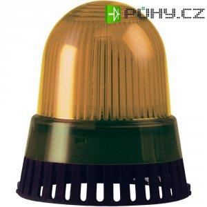 Bzučák s LED Werma 420.310.75, 101 x 89 mm, 24 V DC/AC, IP65, žlutá