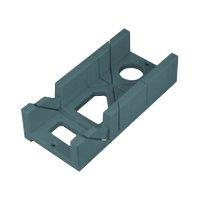 Přípravek na řezání úhlů plastový, 300x140x70mm, úhly řezu 45° a 90°, EXTOL PREMIUM