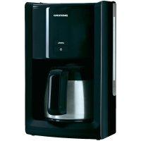 Kávovar Grundig KM 8280, 1000 W, černá/nerez