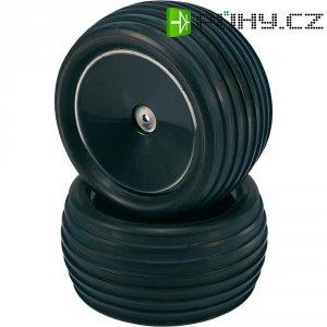 Silniční kolo rýhované Reely, plný ráfek, 12 mm 6-hran, 1:10, černá, 2 ks