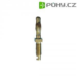 Měřicí lišta MultiContact 22.1051, SA401, zástrčka rovná, 4 mm, (Ø) 4 mm, mosaz