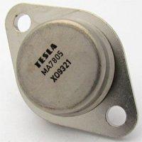 7805 stabilizátor +5V/1A TO3 TESLA /MA7805/