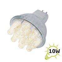Žárovka LED MR11/12VAC (12x) - bílá teplá