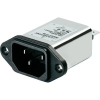 Síťový filtr Schaffner, FN9244-1-06, 250 V/AC, 1 A