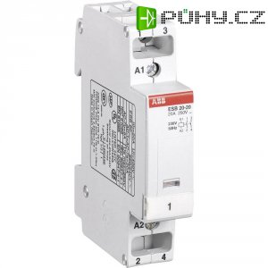 Instalační stykač ABB, GH E321 1102 R 0006, ESB 20-20, 2 spínače, 230V/50 Hz
