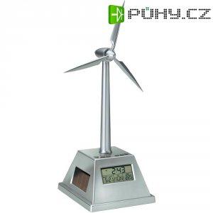 Solární hodiny s větrnou elektrárnou Reflects Wokingham, 51501