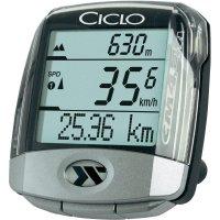 Bezdrátový cyklocomputer s teploměrem a výškoměrem CicloSport CM4.4A