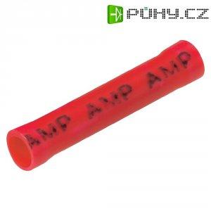 Krimpovací propojka TE Connectivity (34070), Ø 3,56 mm, 0,25 -1,6 mm², červená