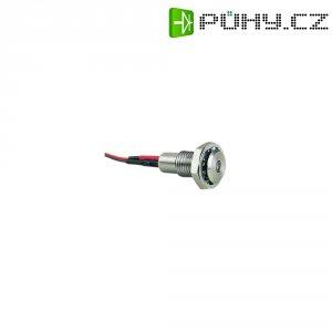 LED signálka Bulgin DX0507/GN/24V, IP67, profil vyčnívající, 24 V/DC, zelená
