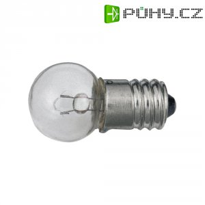 Žárovka Barthelme pro světlo na jízdní kolo, 6 V, 0,1 A, 0,6 W, E10, čirá