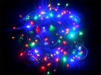 Řetěz vánoční 150 LED 20m barevná IP44 RETLUX RXL3