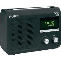 Internetové Wi-Fi rádio s DAB+ Pure One Flow, černá