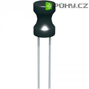 Radiální pevná cívka Fastron 09P-100K-50, 10 µH, 2,4 A, 10 %, 09P-100, ferit