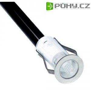 Sada vestavných LED svítidel Brilliant Cosa 15, modré světlo, nerez (G03090/73)