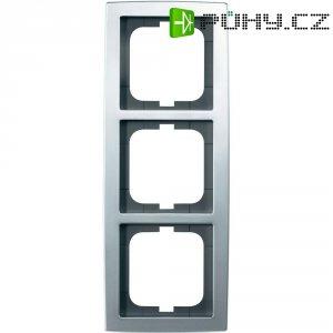 Krycí rámeček na tři zásuvky Busch-Jaeger Solo, ch