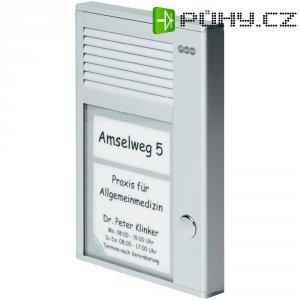 Domácí telefon Auerswald TFS-Dialog 201, 90634, 1 rodina, stříbrná