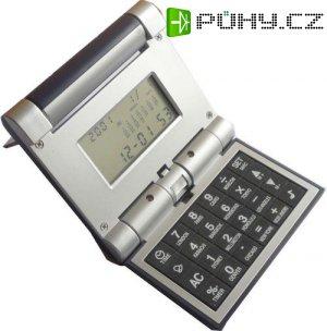 Kalkulačka+hodiny+budík, skládací