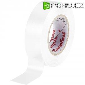 Izolační páska Coroplast, 302, 15 mm x 10 m, bílá