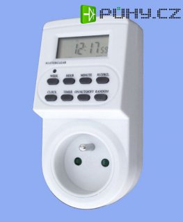 Elektronické spínací hodiny (do zásuvky)