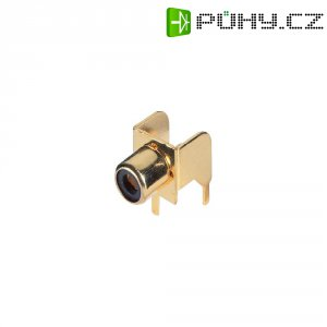 Cinch zásuvka BKL Electronic 1103045, 2pól., pozlacená