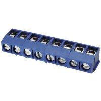 Pájecí svorkovnice série DG301-5.0 DG301R-5.0-02P-12, AWG 22-14, 5,0 mm, modrá