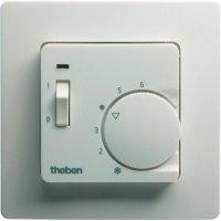 Pokojový termostat pod omítku Theben RAM 746, 5 až 30 °C, bílá