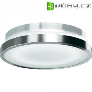 Venkovní nástěnné LED svítidlo Osram Noxlite Circular, 20 W, stříbrná