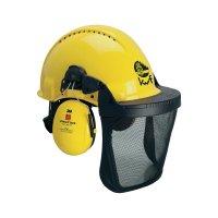 Lesnická ochranná helma 3M G3000M, XA007707343, žlutá