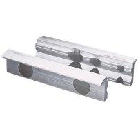 Magnetické čelisti s prizmou Heuer 108160, 160 mm, polyuretan, 2 ks