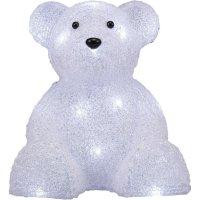 Akrylátový LED lední medvěd Polarlite LBA-52-004, na baterie